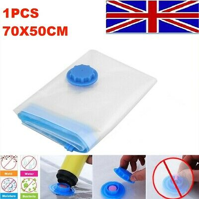 10x Strong Vacuum Storage Bags VAC Space Saving Compressed Bag Vaccum Pack Saver