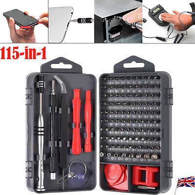 115-In-1 Screwdriver Repair Tool Kit Professional Removable For iPhone Computer