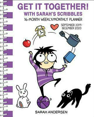 Sarah's Scribbles 2019-2020 16-month Monthly/weekly Diary by Sarah Andersen Pape