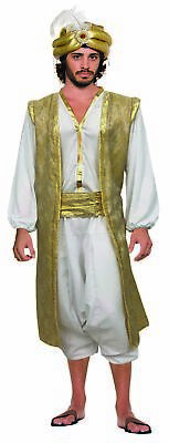 Adult Fancy Dress Party Costume Accessory Aladdin Desert Prince Red Sash Deluxe