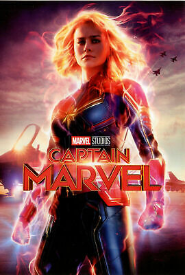 Captain Marvel (DVD, 2019 NEW SEALED) SUPERHERO ACTION - FREE FAST SHIPPING!!!