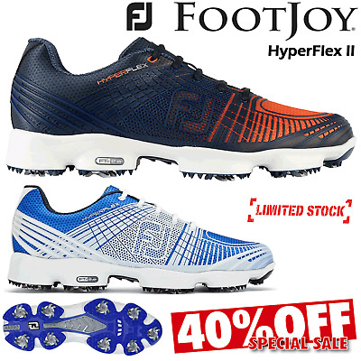 Footjoy Hyperflex Golf Shoes Mens Golf Shoes Hyperflex Ii Waterproof *40% Sale*