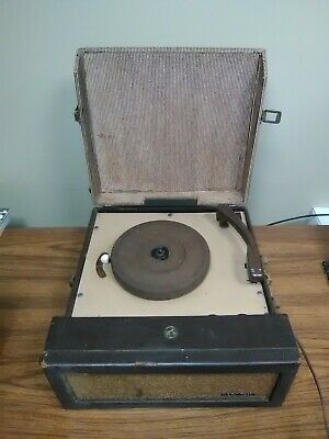 Vintage 1950's RCA Victor 6 EMP 1 Portable Record Player