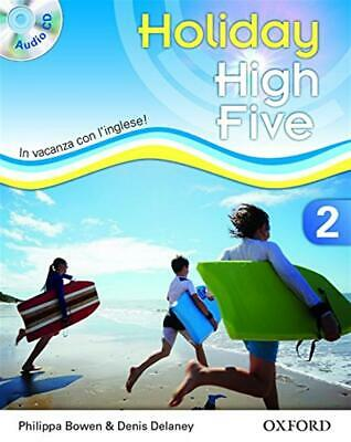 High five on holiday. Student book. Per la Scuola media. Con CD. Con esp...