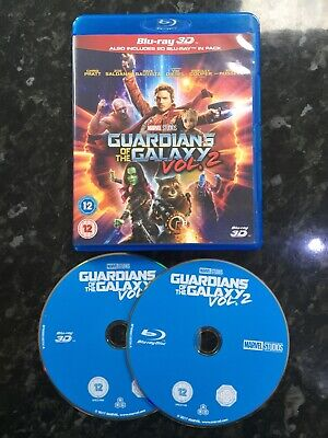 Marvel Guardians Of The Galaxy 2 3d Blu Ray