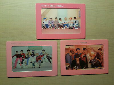 BTS - Map of the soul PERSONA big hit shop gift aurora frames Vers 2 and vers 4