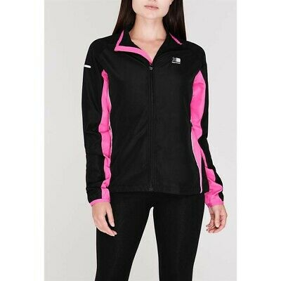 Karrimor - Ladies Run Jacket Black/Pink Size 10 62RN1