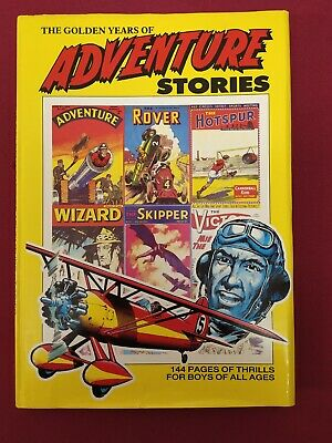 The Golden Years of Adventure Stories (Rover, Wizard, Hotspur, Victor,) FREE P&P
