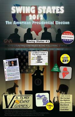 VPG Boardgame Swing States 2012 - The American Presidential Election Zip EX