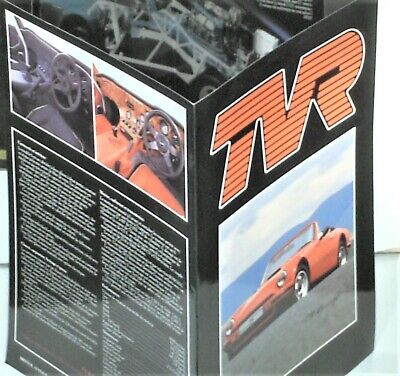 BROCHURE TVR / FRENCH EDITION (peu courant)