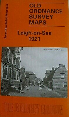 Old Ordnance Survey  Maps Leigh On Sea Essex 1921 Godfrey Edition New
