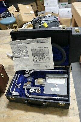 Vintage Alnor Velometer Type 3002 Air Flow Meter Kit