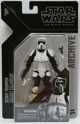 STAR WARS THE BLACK SERIES ARCHIVE SCOUT TROOPER 6-Inch ACTION FIGURE