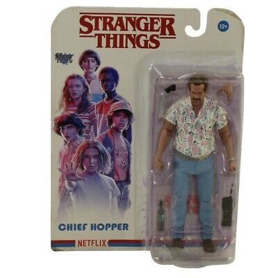 McFarlane Toys Action Figure - Stranger Things S4 - CHIEF HOPPER - New