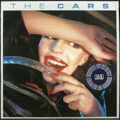 THE CARS 1978 1st pressing Red label Promo LP with promo labels