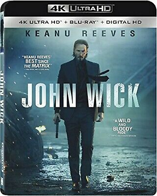 Blu-Ray John Wick ( 4K Ultra HD, Blu-Ray) Neuf 4k