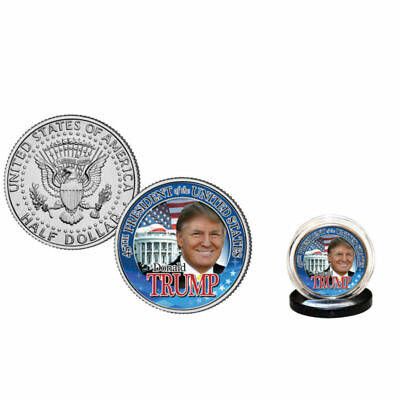 DONALD TRUMP 45th President 2016 U.S. Half Dollar Coin WHITE HOUSE