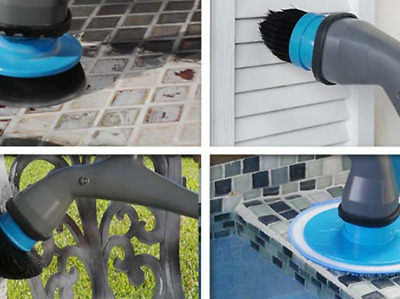ALL-IN-ONE Muscle Scrubber Electrical SpinScrubber Spin Scrubber Brush