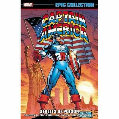Captain America Epic Collection: Streets of Poison (Epi - Paperback NEW Mark Gru