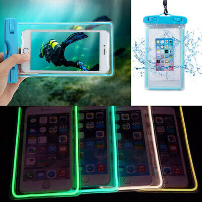 Waterproof Dry Bag Case Cover For Cell Phone Touch Screen Underwater Pouchs UK