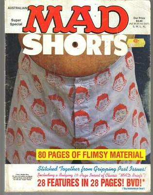 2 AUSSIE MAD SUPER SPECIAL MAD SHORTS '89& #281 ANOTHER LEMON ''88 ed