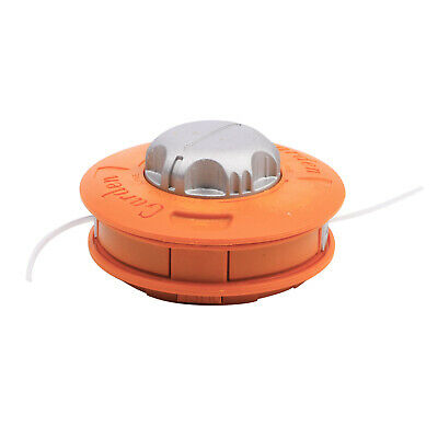 Tête filetée coupe bordure fil Nylon pelouse tondeuse à gazon Strimmer orange