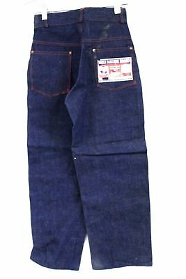 VTG Boys MIKE MALONE BRAND Denim Jeans 40s NWT Dead Stock Button Fly RARE 24/24