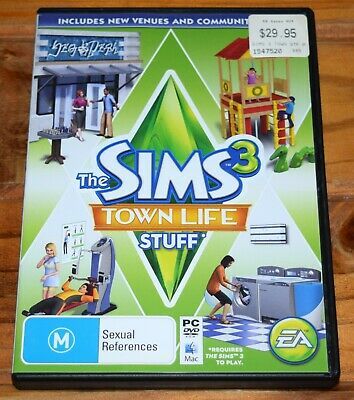 THE SIMS 3 Town Life Stuff - Expansion Pack - PC MAC EA