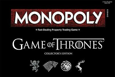 Monopoly Game of Thrones Board Game  Collectable Monopoly Game  Official Game...