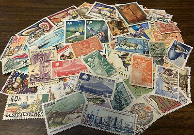 [Lot 477] 150 Different Worldwide Stamp Collection - Starts at $1.49!