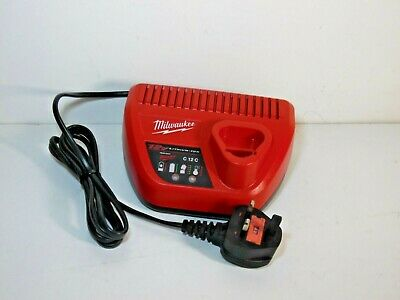 Milwaukee C12C 12V Lithium Battery Charger 240V for M12 batteries fully working