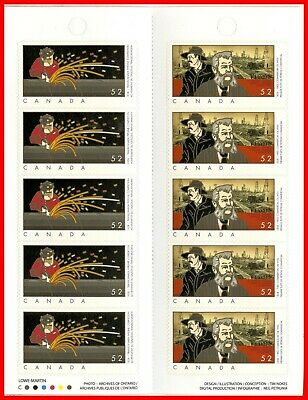 Canada Stamp Mint Full Booklet(BK376)  #2268b(2267-8) - Industries Oil and Gas