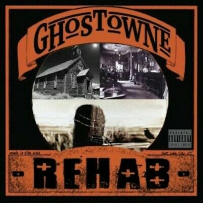 Ghostowne - Rehab [New CD] Professionally Duplicated CD
