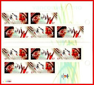 Canada Stamp Mint Booklet(BK425) #2375a(2374-5) - Celebrating the Olympic Spirit