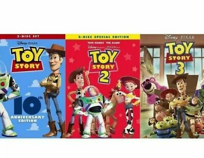 Toy Story 1,2&3 (DVD Triology) New 3 Movie Bundle >Free Shipping>>>
