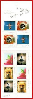 Canada Stamp Mint Booklet(BK430) #2393a(2389-2393) Canadian Wildlife Photography