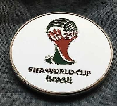 Neymar Jr FIFA World Cup Brazil Logo Silver Coin Soccer Football 2018 Russia