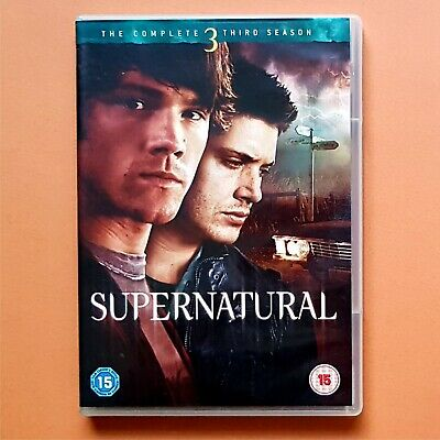 SUPERNATURAL DVD Season 3 complete ALL 16 EPISODES third season series