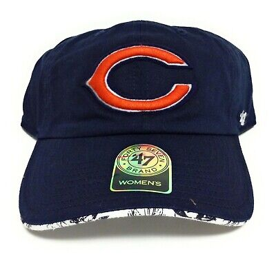 Womens '47 Brand Chicago Bears One Size Navy Adjustable NFL Football Hat Cap