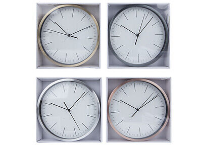 Wall Clock Large Any Room in Home,Dining Room, Kitchen, Office,School 4 COLOURS