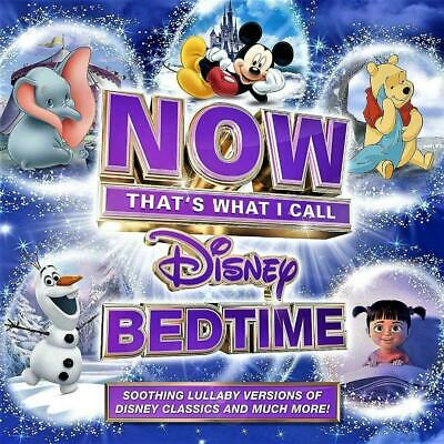 Now That's What I Call Disney Bedtime - Various Artists (New Sealed 2Cd)