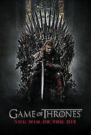 Game of Thrones Series 1 Complete (DVD 5-Disc Set) NEW AND SEALED REGION 2 UK