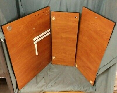 ENOVATE MEDICAL e850 WALL STATION ELIFT COMPLETE CHERRY FINISH DOOR SET COVERS