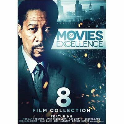 8-Film Collection: Movies of Excellence DVD Box Set Morgan Freeman