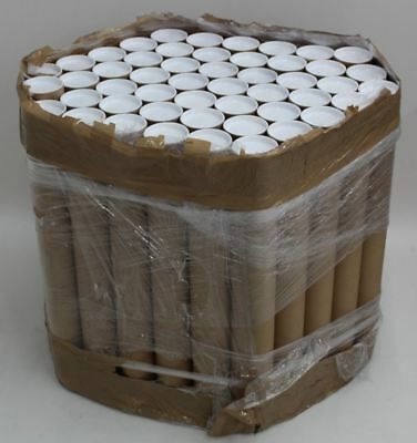 50x NEW Wide Bulk Cardboard Postal Rolled Up Packing Tubes w/End Caps 640x764mm