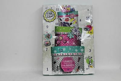NEW CHIT CHAT 24 Days Christmas Beauty Make Up Cosmetic Advent Calendar Gift Set