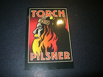 FOOTHILLS BREWING COMPANY Torch Pilsner STICKER decal craft beer brewery