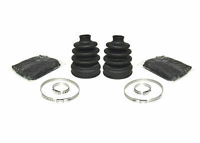 2000-2001 Yamaha Big Bear 400 4x4 Pair of Front Axle Inner /& Outer CV Boot Kits