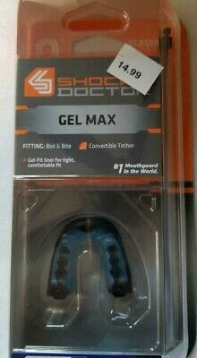 Shock Doctor Gel Max Classic Fit Strapped Mouthguard