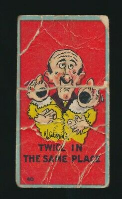 1906 T88 Sweet Caporal Cigarettes MUTT & JEFF (Color) #40 Twice In Same Place